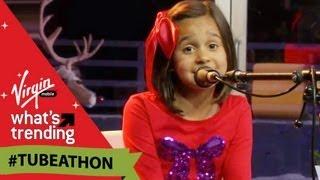Reality Changers (Jorge & Alexa Narvaez) Sing Feliz Navidad LIVE on #Tubeathon