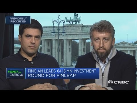 Ping An leads 41.5 million euro investment round for Finleap | Squawk Box Europe