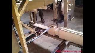 Изготовление оклада или обвязки сруба деревянной бани(Изготовление оклада или обвязки сруба деревянной бани из профилированного бруса с использованием механиз..., 2013-07-06T19:58:23.000Z)