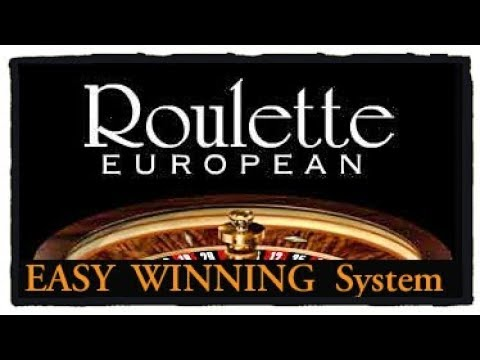 European ROULETTE Easy Winning Tricks.