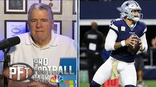 What are Cowboys options regarding Dak Prescott's extension? | Pro Football Talk | NBC Sports