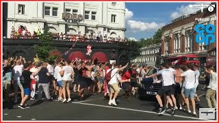 Scenes across the nation as England reach the semi-finals of the World