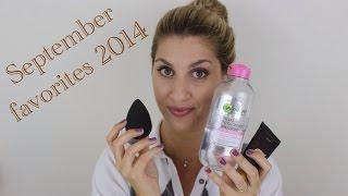 Αγαπημένα προϊόντα Σεπτεμβρίου 2014/ September favorites 2014 Thumbnail