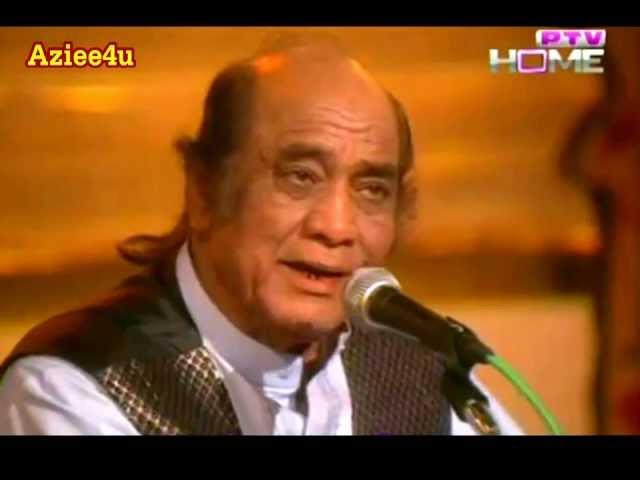 Ranjish Hi Sahi Dil Hi Dukhane Ke (The Greatest Ustad Mehdi Hasan Khan) Ahmed Faraz *Ptv Classic *