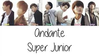 Super Junior Andante Lyrics