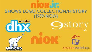 NICK JR SHOW LOGO COLLECTION/EVOLUTION OF CLOSING LOGOS ON NICK JR SHOWS (1989NOW)