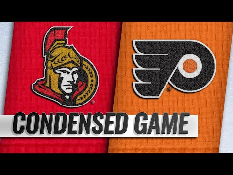 11/27/18 Condensed Game: Senators @ Flyers
