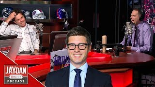Max Kerman's uncle wants to know why Kyle Dubas wears those glasses in S2, E7 of the Jay and Dan Pod