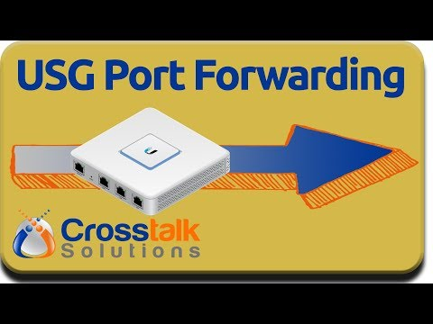 usg port forwarding