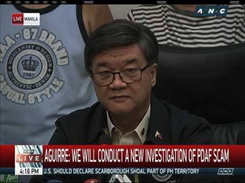 DOJ to open fresh probe on PDAF, DAP