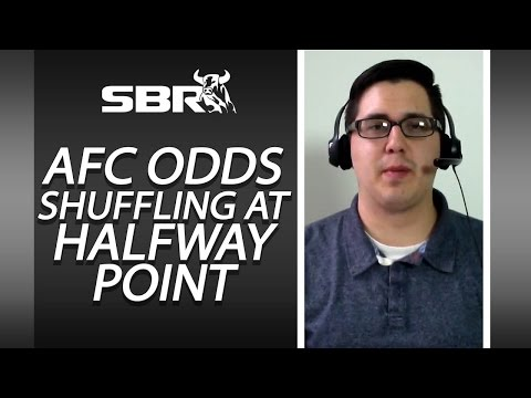 NFL Future Odds: AFC Odds Shuffling At Halfway Point