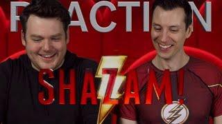 Shazam! - Sneak Peak - Reaction/Review/Rating