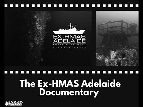 Dive the HMAS Adelaide