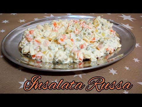 INSALATA RUSSA con maionese fatta in casa con Monsieur Cuisine Lidl