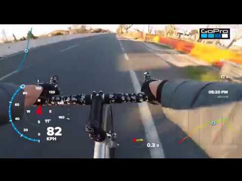 How we do the world record 97 km/h by fixed bike . DAFNEFIXED