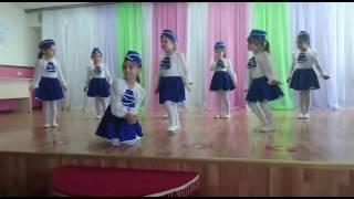 Танец детей, танец стюардесс. Чечня