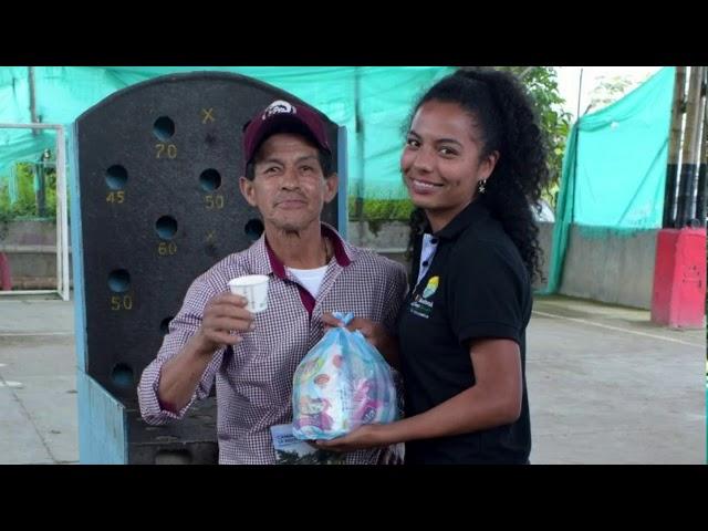 #JóvenesQueTransforman MARIA JULIANA AGREDO Empoderamiento Jóvenes Rurales. Timbio. Pacífico