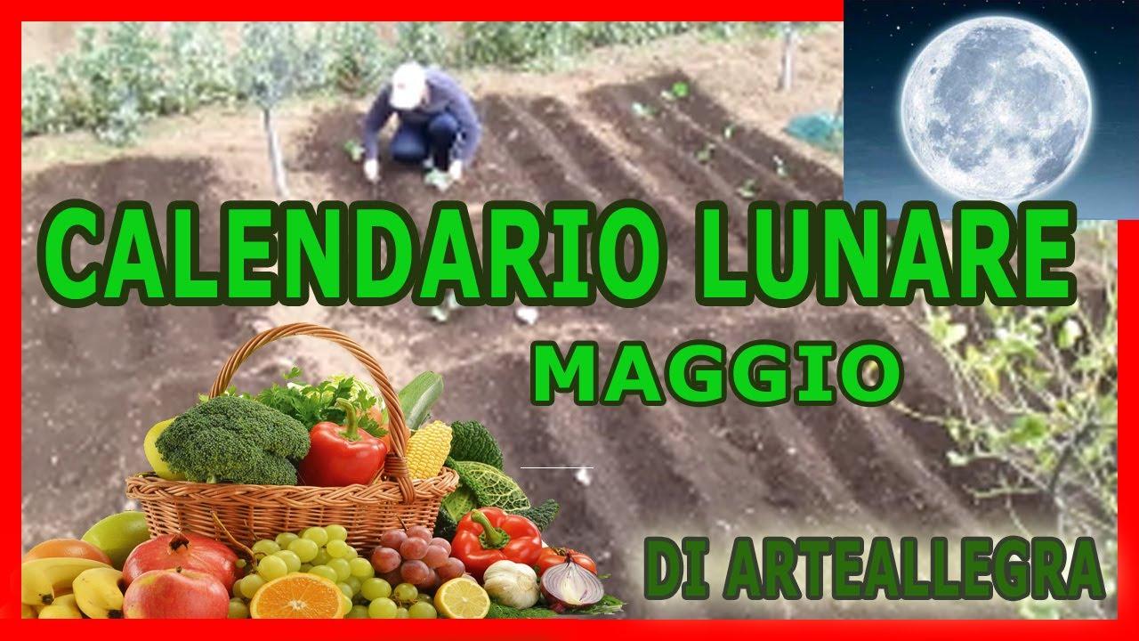 Calendario Lunare Maggio.Il Calendario Lunare Maggio 2018