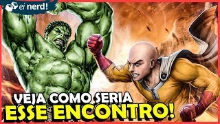 MARVEL E ONE PUNCH MAN: COMO SERIA O CROSSOVER