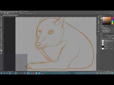 Computer art: Lyra Wolfsong