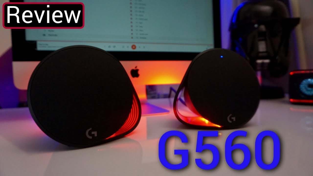 Logitech G560 Gaming Speaker Review — GYMCADDY