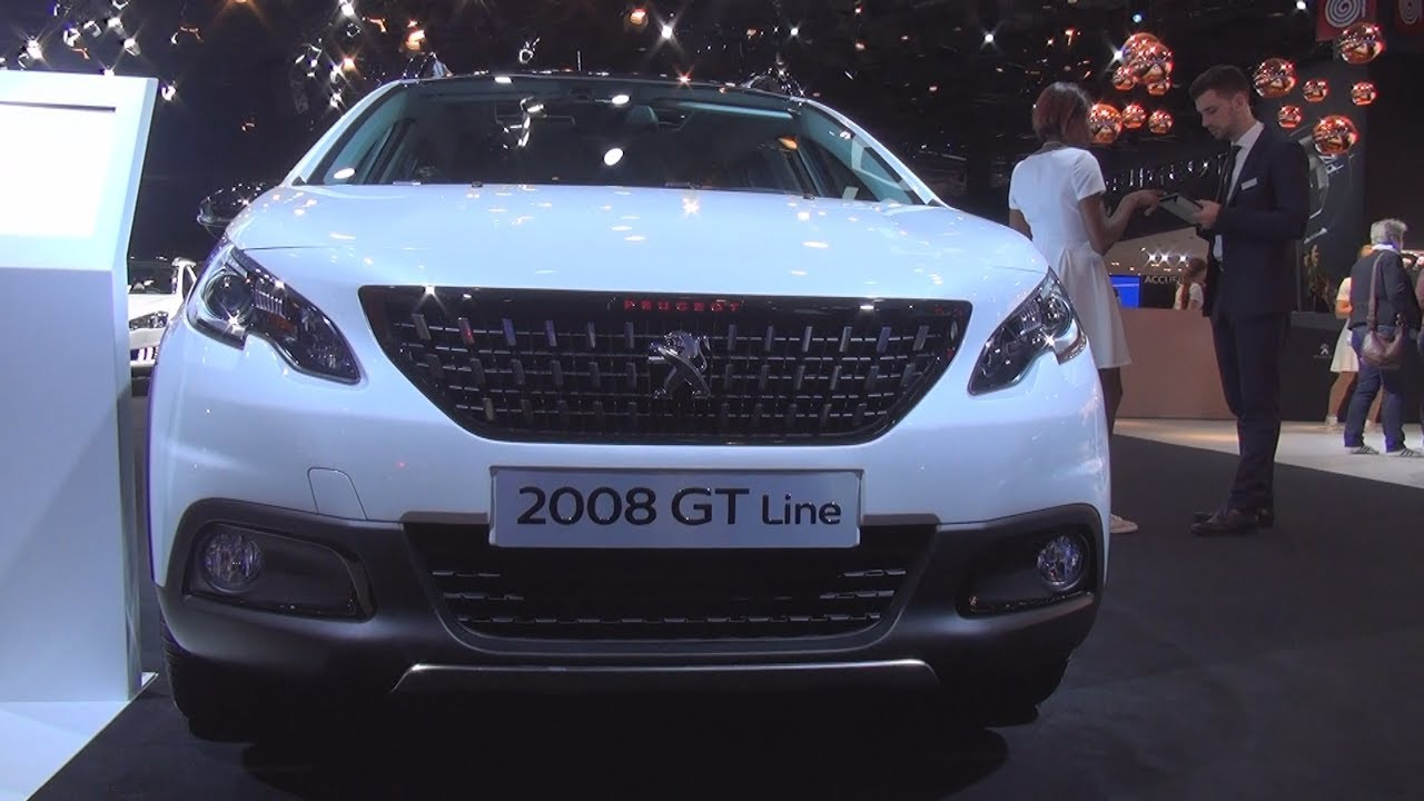 Peugeot 2008 Gt Line 1 2 Puretech 130 S S Bvm6 2017 Exterior And Interior Youtube