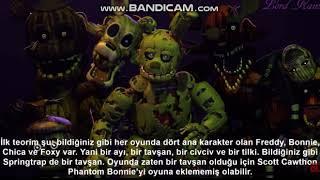 Five Nights at Freddy's 3: Phantom Bonnie Nerede? #FreddyFazbearTR