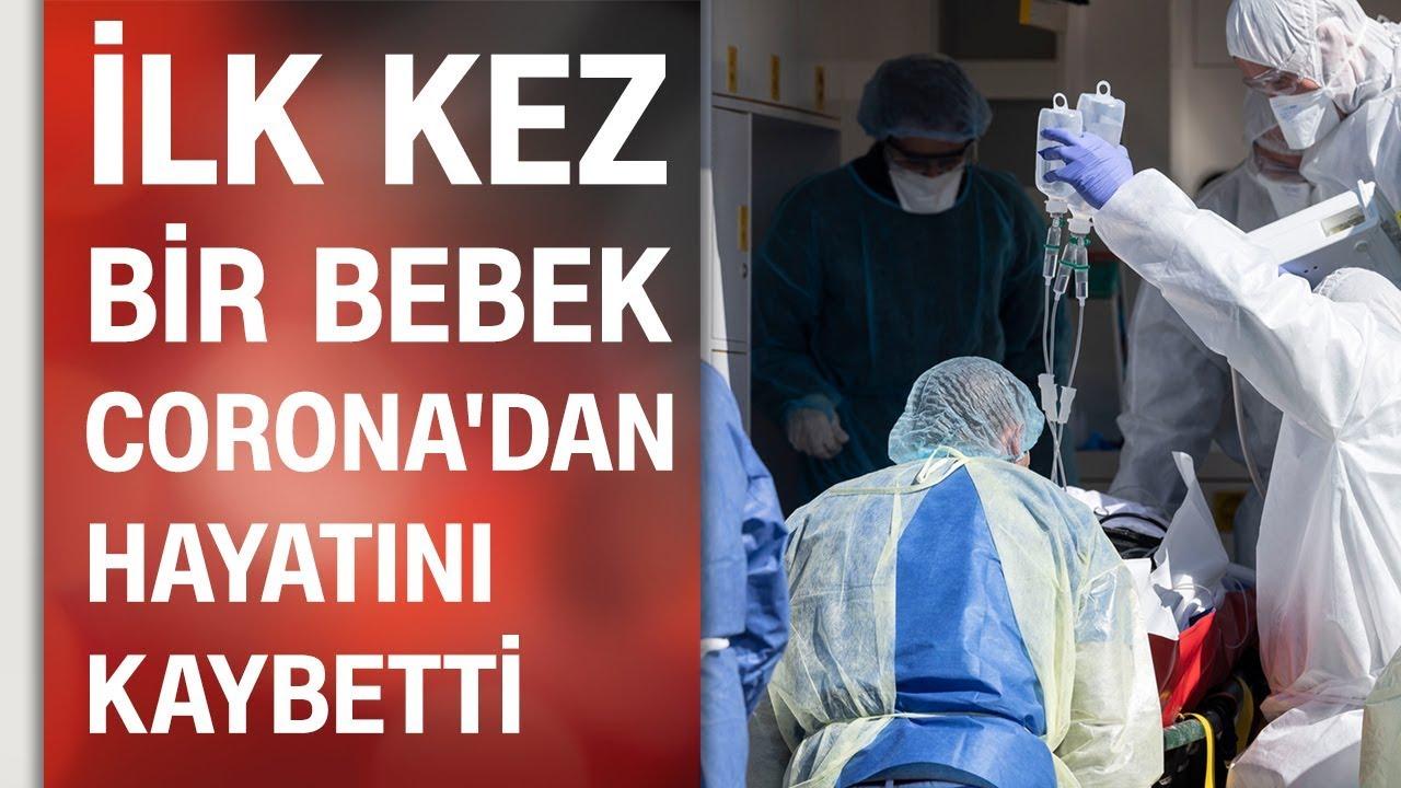 6 aylık bebek koronavirüsten öldü