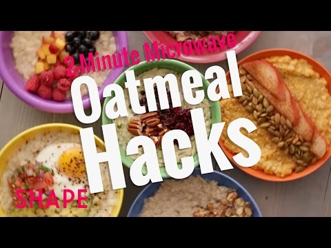 2-Minute Microwave Oatmeal Hacks | Shape
