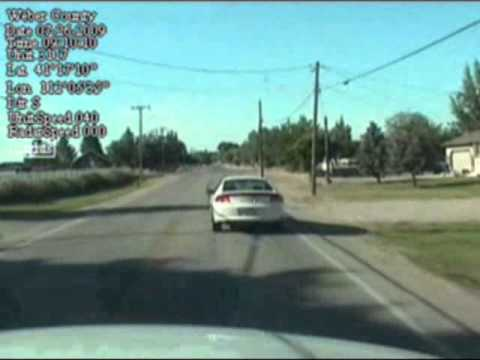 7 year old driver evading Weber County Sheriff's Office Deputy 2009