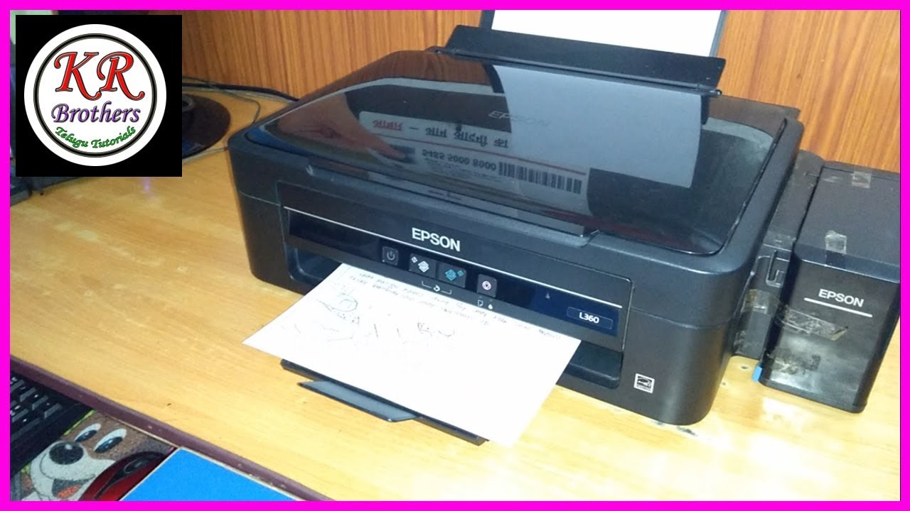 How to Copy Multi Pages epson l360