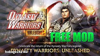 Dynasty Warriors: Unleashed 1.0.6.7 FREE MOD APK - High Attack/High Defense/No Cooldown