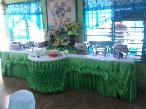 Apache Catering Set Up And Buffet Skirting YouTube - Catering table setting