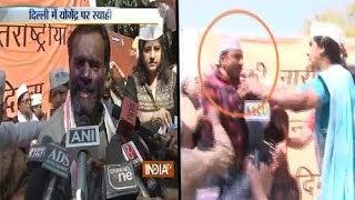 Watch LIVE Ink smeared on AAP leader Yogendra Yadav