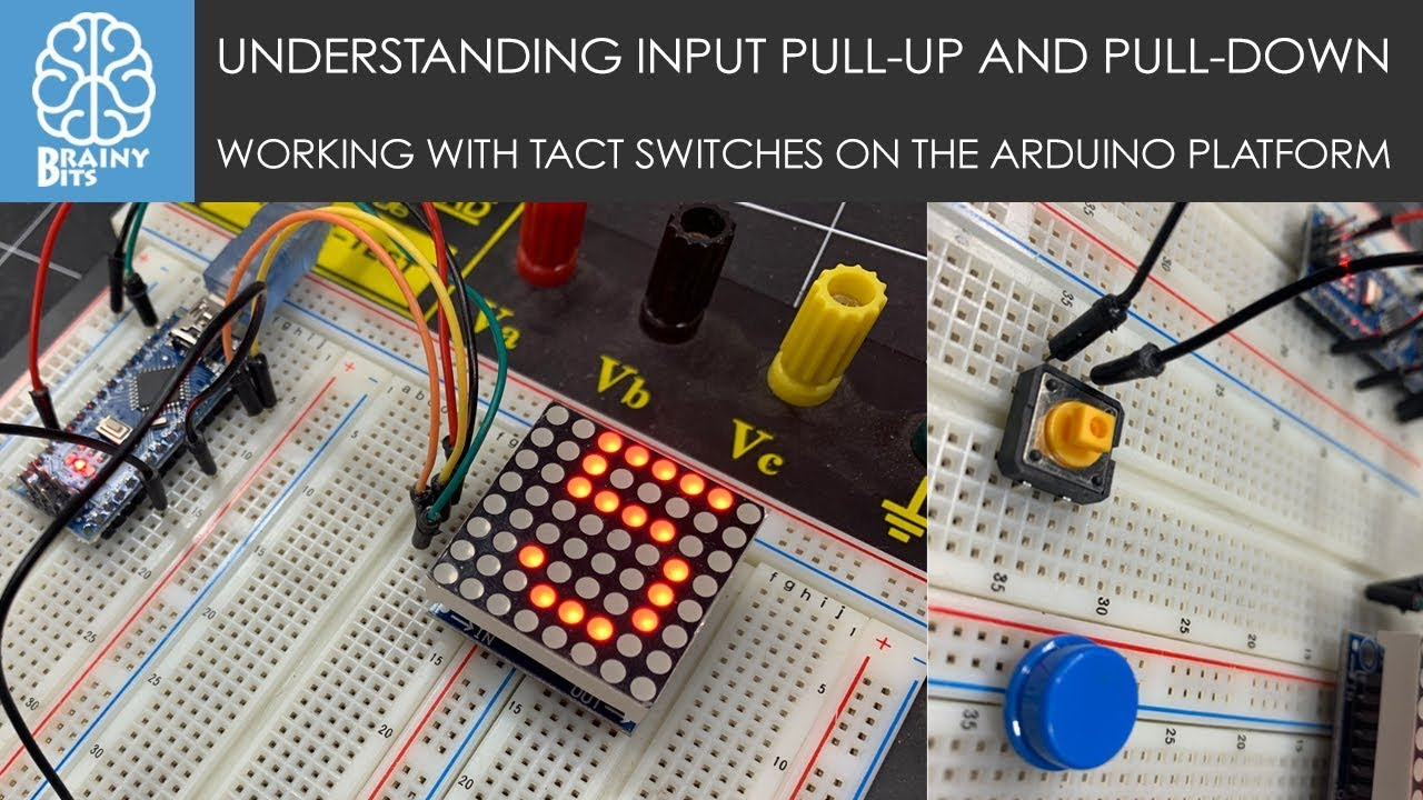 Using switches with an Arduino – Input Pull-Up / Pull-Down