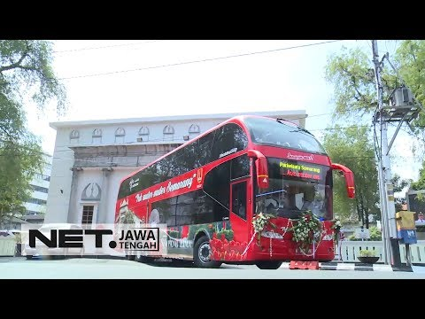 Yuk! Jalan-Jalan Muter Semarang, Naik Bus Tingkat - NET JATENG
