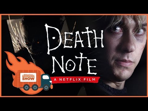 Death Note Netflix Movie Review – Kinda Funny Morning Show 09.01.17