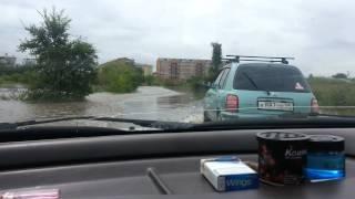 Наводнение уссурийск (междуречье затопило)