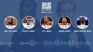 UNDISPUTED Audio Podcast (04.23.19) with Skip Bayless, Shannon Sharpe & Jenny Taft | UNDISPUTED