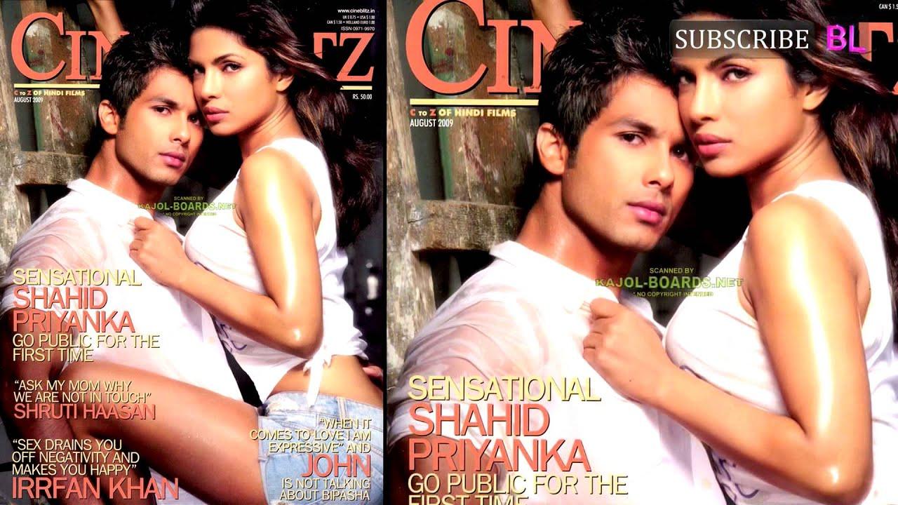 Shahid Kapoor's ex Priyanka Chopra and alleged current ... Shahid Kapoor Girlfriend Now