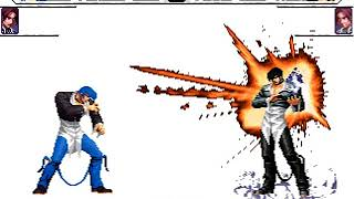 [KOF Mugen] Blue Flame Iori,Kychiel VS Final Iori Yagami,Orochi Kyo WF
