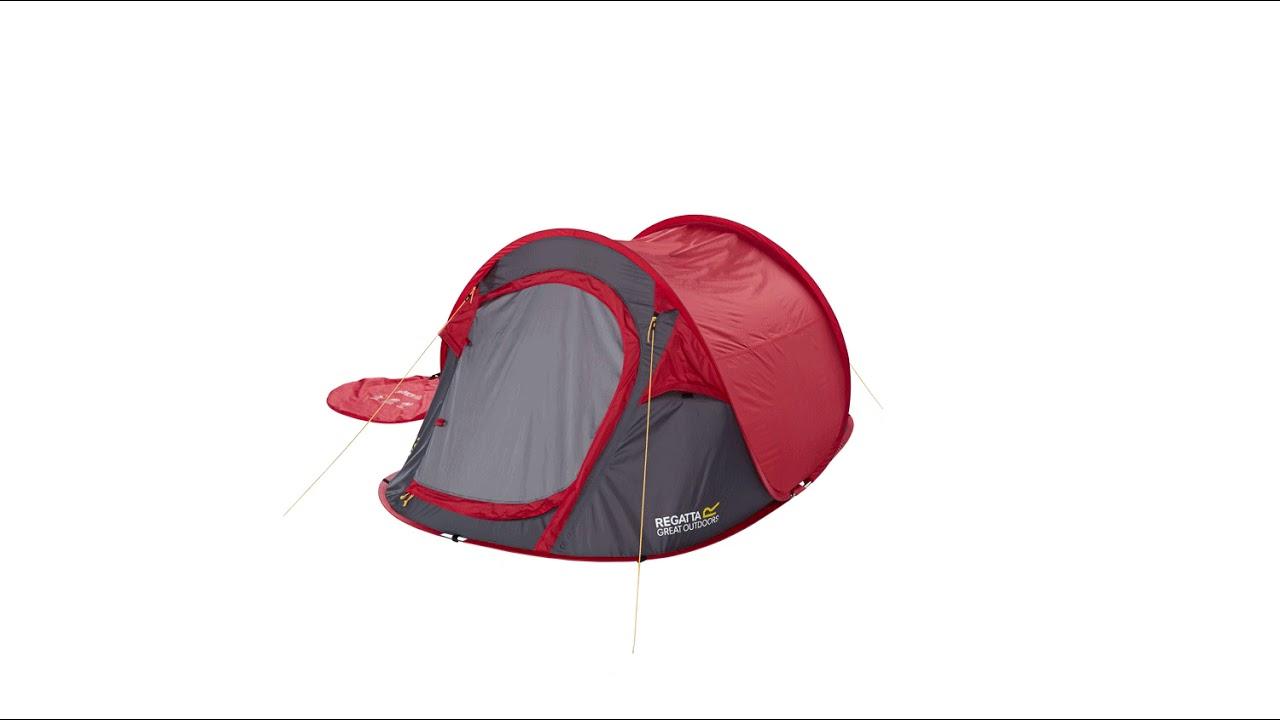 check out 7ab58 6b4a2 Regatta Malawi 2 Pop Up Tent - Campingworld.co.uk