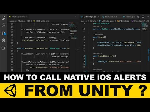 Unity3d IOS Plugins - How To Call Native IOS Alerts From Unity ?