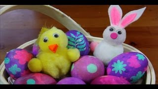 How to Make Easter Eggs at Home!