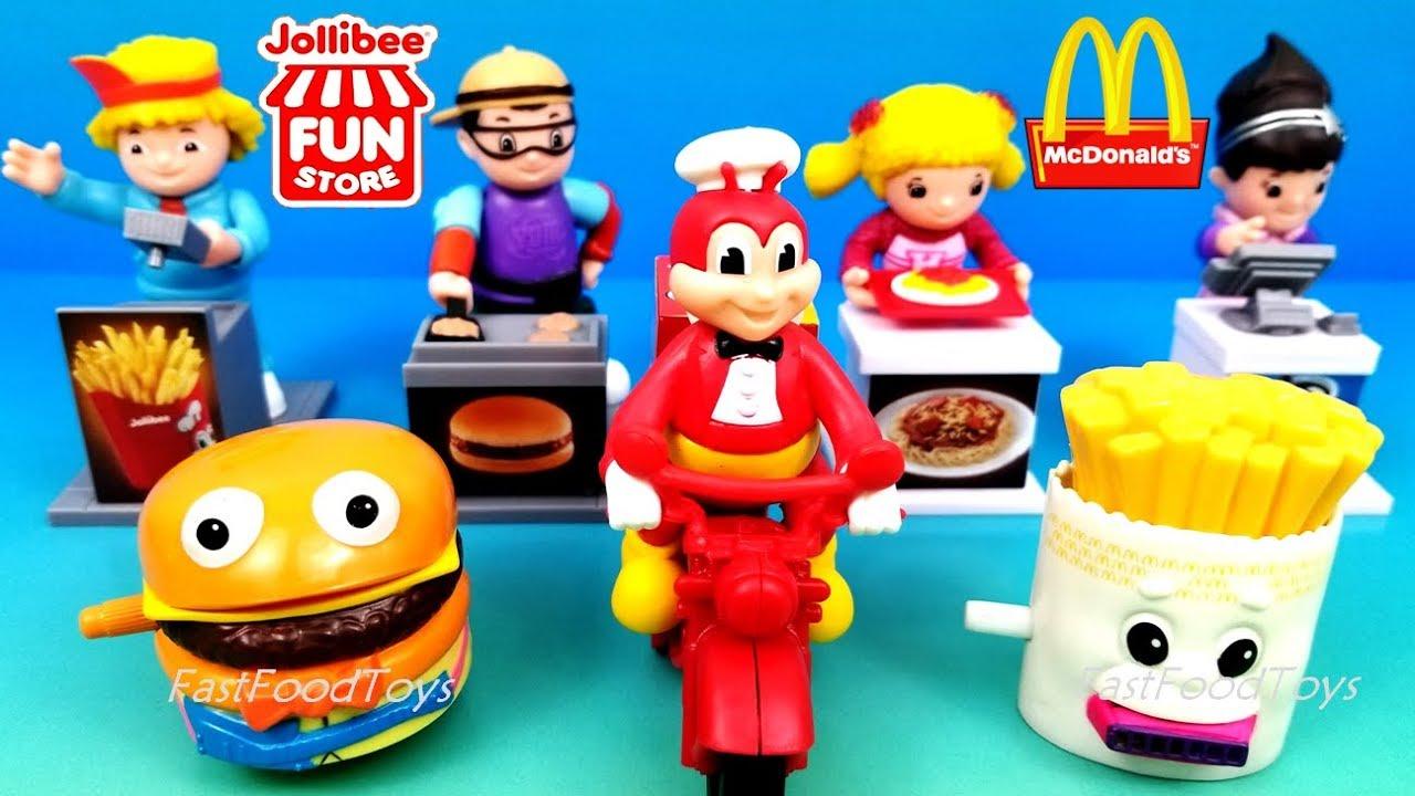 2018 Jollibee Fun Store Jolly Kiddie Meal Toys Mcdonald S