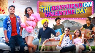 Desi Boyfriend On Valentine Day | Desi Vs City | Hindi Moral Stories | Prince Pathania