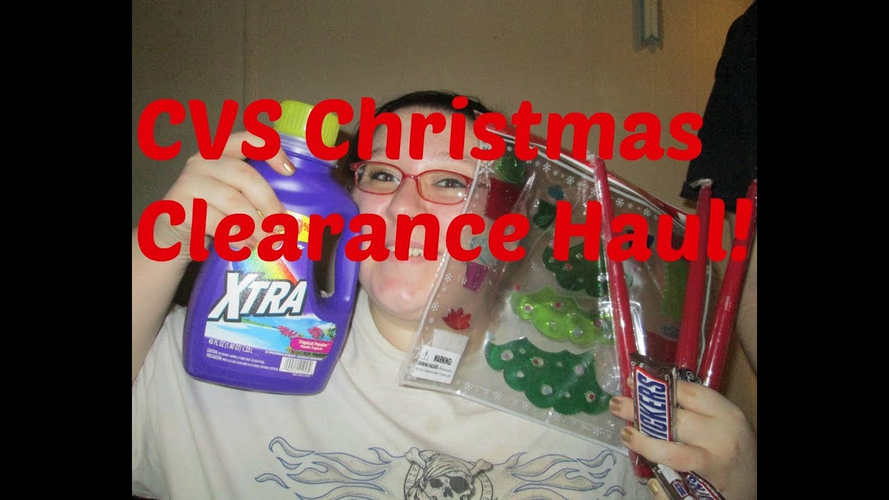 cvs christmas clearance haul - Cvs Christmas Clearance