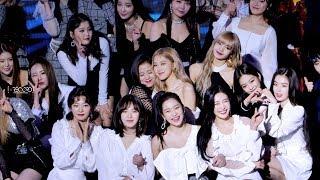 190123 블랙핑크 로제(BLACKPINK ROSÉ) 가온차트 뮤직 어워즈 2019 Gaon Chart Music Awards 직캠 - 수상 + 대기 + 엔딩