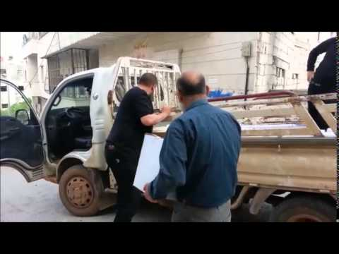 JISR AL SHUGOUR FOOD PARCELS AND BREAD DELIVERED - MAY 2015