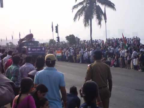 Republic Day Parade 2014 Mumbai